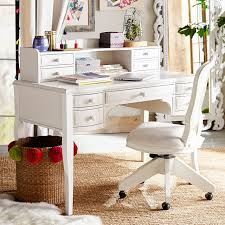 White work desk Jane Work Pbteen Lilac Desk Hutch Pbteen