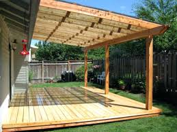 backyard shade privacy patio structures