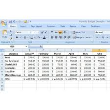 Free Excel Budget Bad1 Club