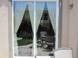 open blinds for sliding glass doors