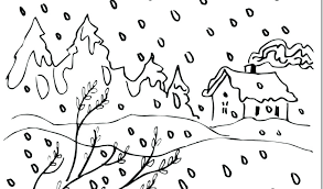 Snow Coloring Page Snow Coloring Page Snow Coloring Pages Download
