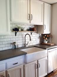 Sink And Cabinets Construction Kitchenfarm Sinkconcrete