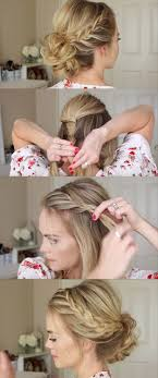 24 beautiful bridesmaid hairstyles for any wedding lace braid homeing updo missy sue beautiful