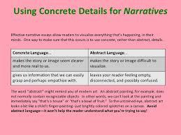 english descriptive writing examples