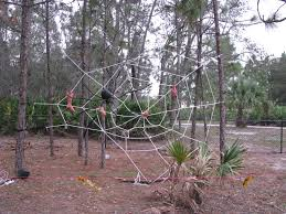How To Make A Giant Spider Web Halloween Party 2