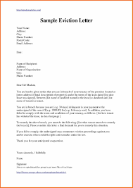 Letter Of Eviction Template Uk Copy 4 Notice - Tinyearthling.co