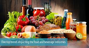 Five Top Trends Impacting The Food And Beverage Industries