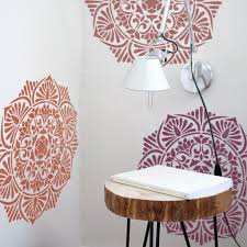 image stencils furniture painting. Medallion Painting Stencil - Furniture Wall Stencils Mandala Image