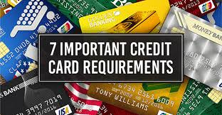 Everyone uses amazon nowadays so this is as good as cash. 7 Important Credit Card Requirements Minimums To Apply Cardrates Com