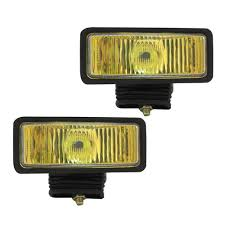 pilot automotive driving fog light nv 104 2 x 6 amber fog lights