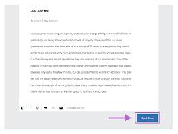 check essays essay help middle school lancaster students have  what is a signal check guides turnitin com highlighted text corresponding comments along the side of