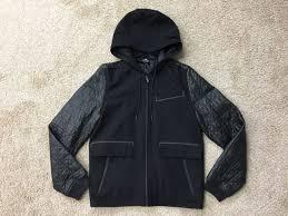 mens nike air jordan leather wool letterman jacket size um 632071 010