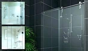 sliding frameless shower doors sliding shower door sliding shower doors ideas barn sliding glass shower doors