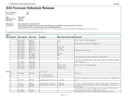 Delivery Schedule Template Excel Computer Templates Design