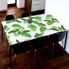 jungle leaf stencils set of 6