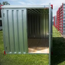 Gebrauchte Lagercontainer Aus Mietrückläufer