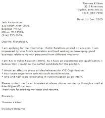 Public Relations Cover Letter Examples - Cover Letter Now