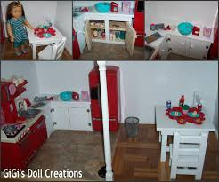 Gigis Doll And Craft Creations American Girl Doll Kitchen And