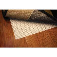 non slip hard surface beige 2 ft x 3 ft rug pad