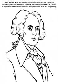 Small Picture Founding Fathers American Presidents John Adams Kids Coloring