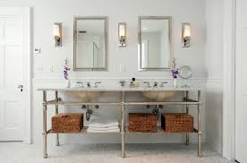 Double Sconce Bathroom Lighting Magnificent 48 Beautiful Bathroom Mirror Ideas By Decor Snob
