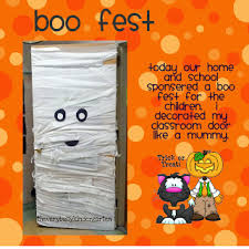 classroom door decorations for halloween. Monster Door Via The Best Halloween Pro On Home Jelly Classroom Decorations For