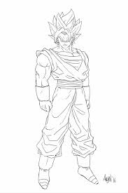 Dragon Ball Z Goku Coloring Pages Pinterest At Bitsliceme