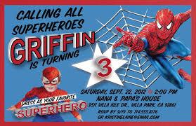 Spiderman Birthday Invitation Templates Free Spiderman 2 Superhero Birthday Party Invitations Free
