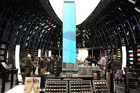 a view of the mac cosmetics flagship in paris
