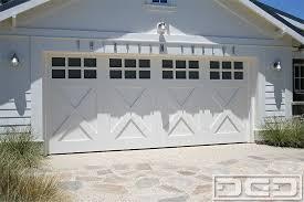 coastal cottage 12 custom architectural garage door