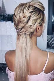 french braid hairstyles prom easy