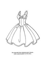 Wedding Dress Coloring Page For Girls Printable Free Pages