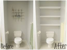 Inspirational Before And After White Wooden Towel Storage Remodeling