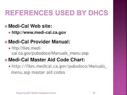 Dhcs Aid Code Chart Ppt Department Of Health Care Services Utilization