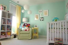Bedroom:Amazing Baby Room Color Ideas And Best Baby Room Colors With Green  Painting Bookshelves