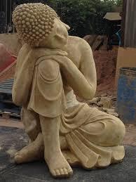 extra large stone buddha statue