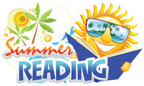 On the Beach Clip Art Summer Reading Clipart Free Download ...