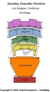 Dorothy Chandler Pavilion Tickets In Los Angeles California
