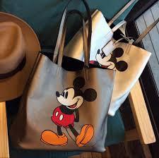 <b>Disney Mickey Mouse Cartoon</b> Large Capacity bag Shoulder ...