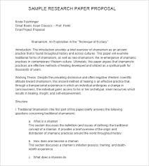 research paper proposal sample 27 research proposal templates free word pdf format examples