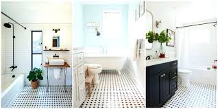 white bathroom floor tiles modern vintage black and tile mosaic design idea inspiration ideas47 ideas