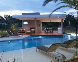 Contemporary Modern Pool Designs For A Large Backyard Customshaped Infinity Throughout Decor