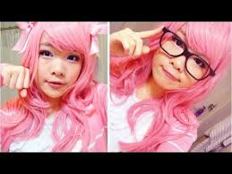 basic female cosplay makeup tutorial megurine luka vocaloid