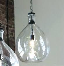 oversized glass pendant farmhouse lights jar light 1 images large seeded gla