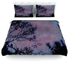 cotton duvet covers robin twilight purple tree cotton duvet cover contemporary duvet covers and duvet sets