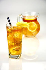 ice tea pitcher and glass of iced canada set