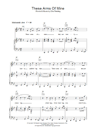 color my world sheet music these arms of mine sheet music direct
