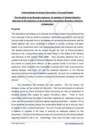 thesis proposal template biology FAMU Online