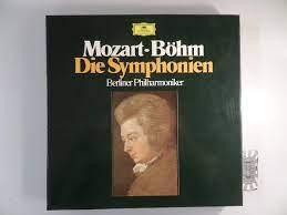 Mozart : Die Symphonien Nr.1 - 41 [Vinyl, Box-Set mit 15 LPs, 2720 086].  von Mozart, Wolfgang Amadeus, Karl Böhm [Dirigent] und Berliner  Philharmoniker:: Sehr gut Vinyl in Pappbox. (1969)