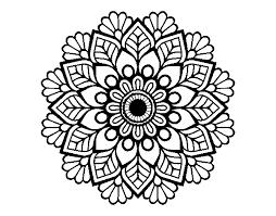 Disegno Di Mandala Di Primavera Da Colorare Acolorecom